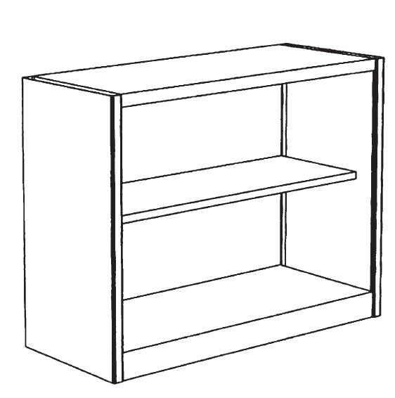 Sopralzo metallico a giorno per armadio 1 ripiano 120x45x88h for Poli arredamenti