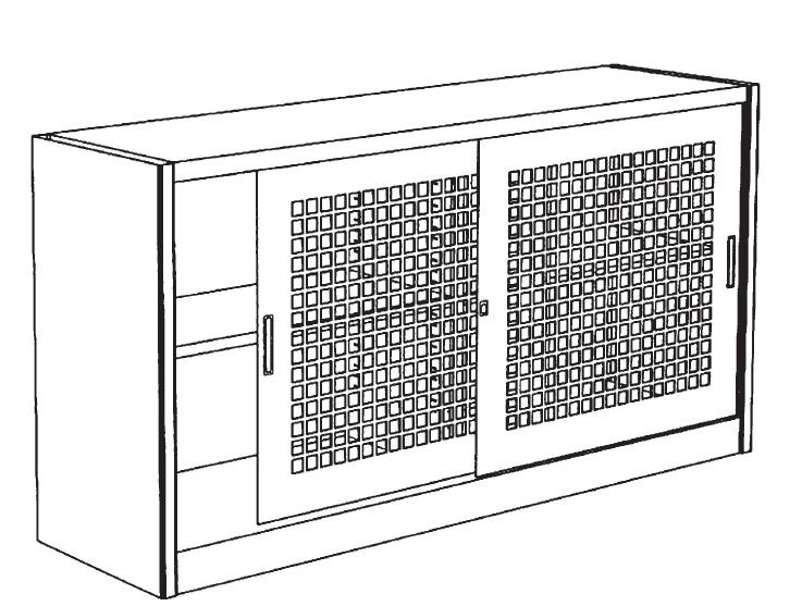 Sopralzo metallico per armadio con porte a reti 1 2 for Poli arredamenti