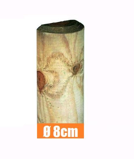 STACCIONATE SOSTEGNO PIANTE ED ALTRI USI 6 Centimetri, 1,5 metri PALI PINO A PUNTA IMPREGNATI IN AUTOCLAVE VARI DIAMETRI E MISURE PER RECINZIONI