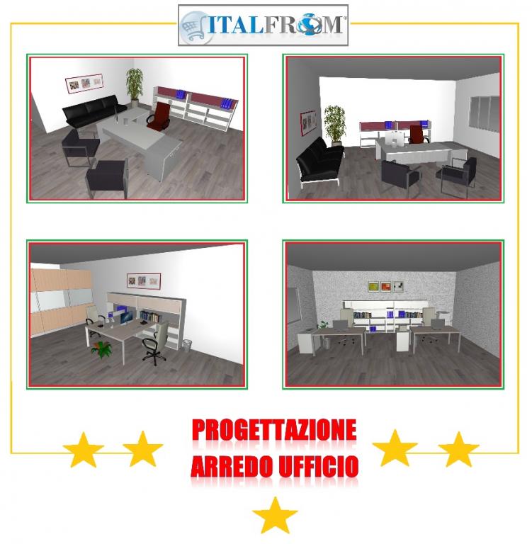 Mobili per ufficio italfrom preventivi e progettazioni for Poli arredamenti