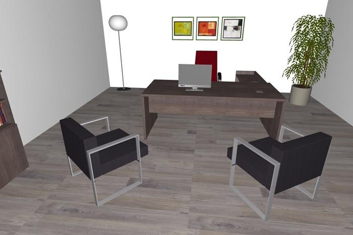 Composizione mobili da ufficio ufficio14 serie beta for Poli arredamenti