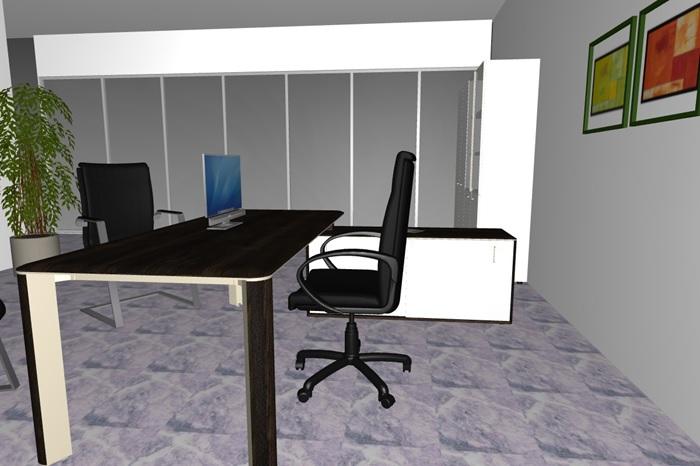 Composizione mobili da ufficio ufficio15 serie caesar for Poli arredamenti