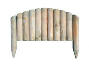 Steccato Per Giardino In Pvc : Bordura steccato vampiro per aiuole giardino in legno di pino cm 55