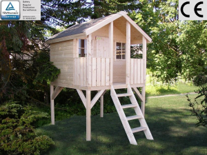 Casette Per Bambini In Legno : Casetta da giardino per bambini in legno d abete nordico mm