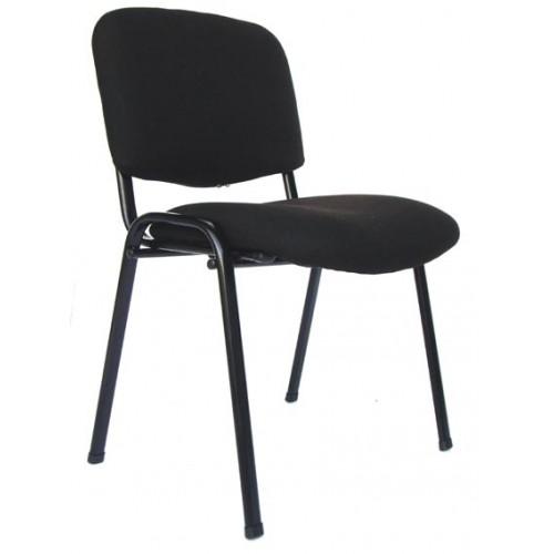 Poltrona sedia d 39 attesa in tessuto colore nero for Sedie ufficio genova