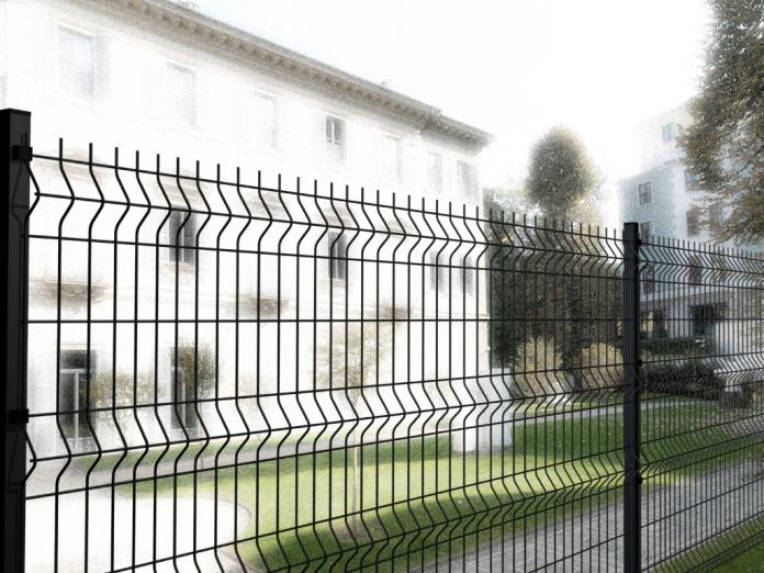 Pannello recinzione modulare cancellata rete metallica for Rete ombreggiante grigia