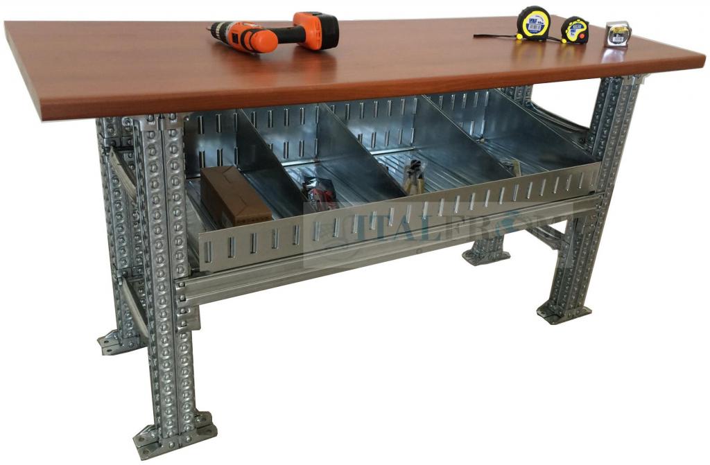 Banco Da Lavoro In Kit Di Montaggio : Banchi lavoro italfrom