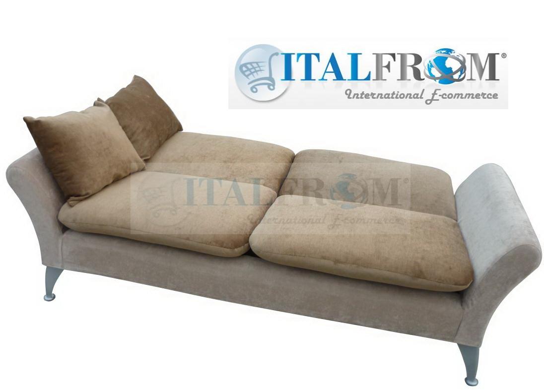 Divano letto divani mod reale sofa bed in microfibra design by italfrom prevendita - Divano letto 120 cm ...