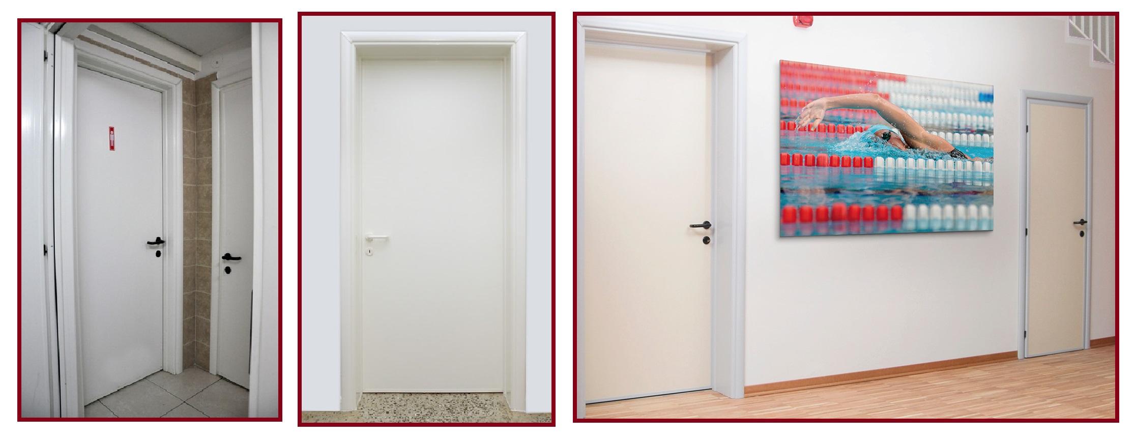 Porta Scorrevole Su Muro Portante stipite per spessore muro fino a 20 cm per porte interne in