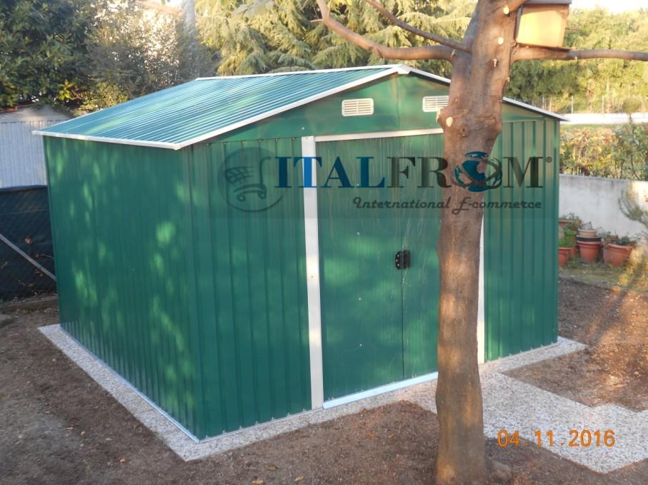 Casetta Giardino In Lamiera : Box casetta casette rimessa ripostiglio garage auto per giardino