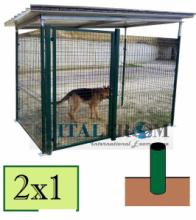 Recinzioni e recinti in ferro recinti per cani pali a for Cancelletto per cani da esterno