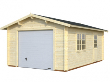 Garage in Legno d' Abete Nordico(44mm) - cm 380X570cm - ITALFROM22