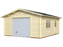 Garage in Legno d' Abete Nordico(44mm) - cm 470X570cm - ITALFROM25
