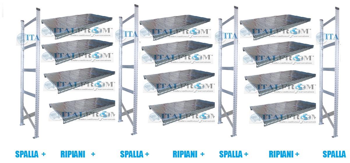 Scaffalature Metalliche Misure Standard.Scaffali Depliant E Vendita Online